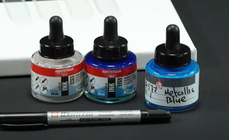 Mix your own Acrylic Ink colours