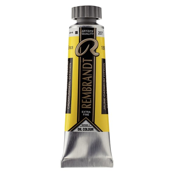 Olieverf Tube 15 ml Cadmiumgeel Citroen 207 - PackshotFront