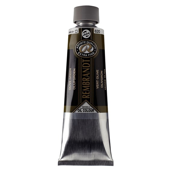 Oil colour Paint Olive Green (620) 150ml Tube - PackshotFront