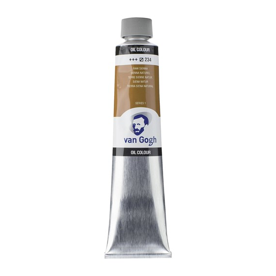 Oil Colour Tube 200 ml Raw Sienna 234 - PackshotFront