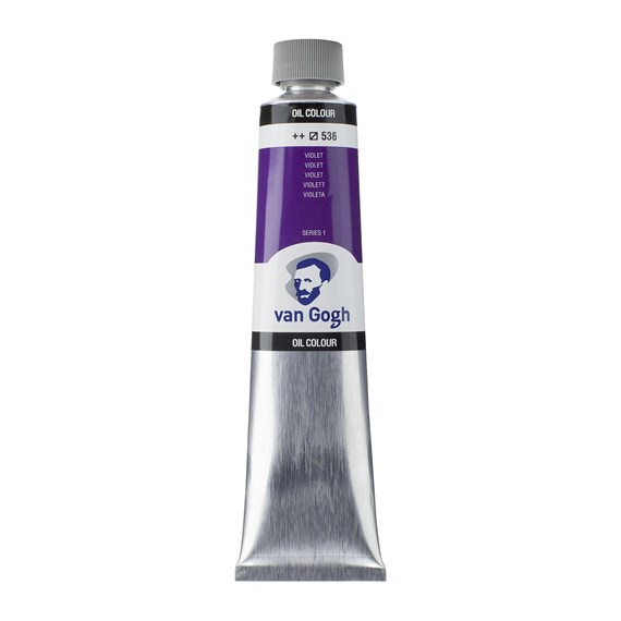Colores al óleo Tubo 200 ml Violeta 536 - PackshotFront