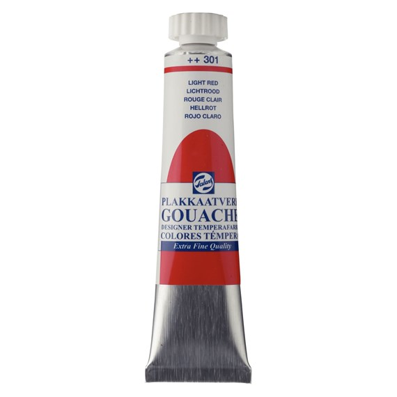 Gouache Extra Fine Tube 20 ml Rouge Clair 301 - PackshotFront