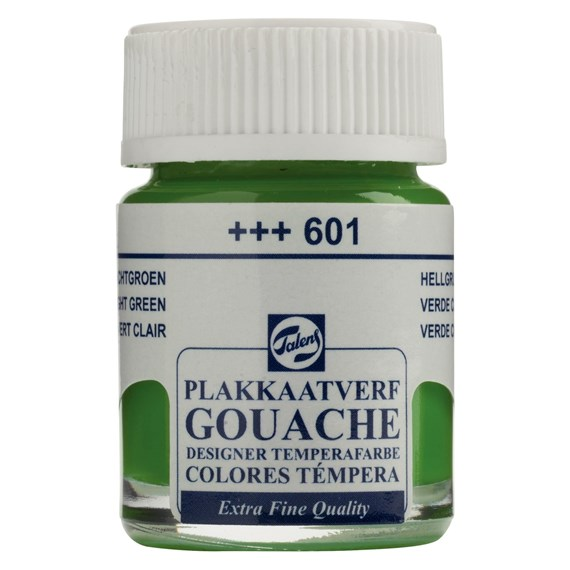 Gouache Extra Fine Quality Flacon 16 ml Light Green 601 - PackshotFront