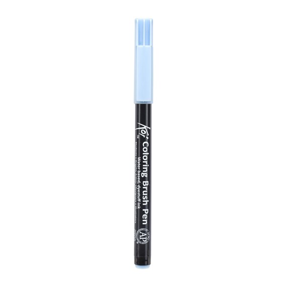 Koi Colouring Brush Pen Light Sky Blue - PackshotFront