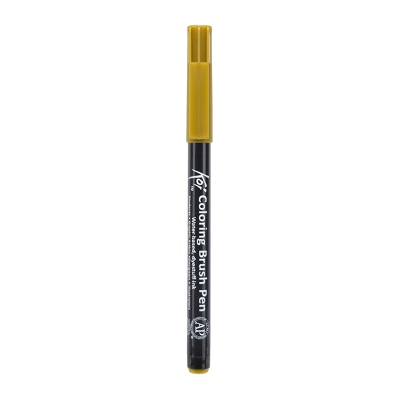 Koi Colouring Penseel Pen Omber naturel - PackshotFront