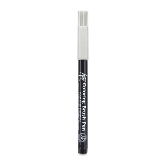 Koi Colouring Brush Pen, Helles Warmgrau - PackshotFront