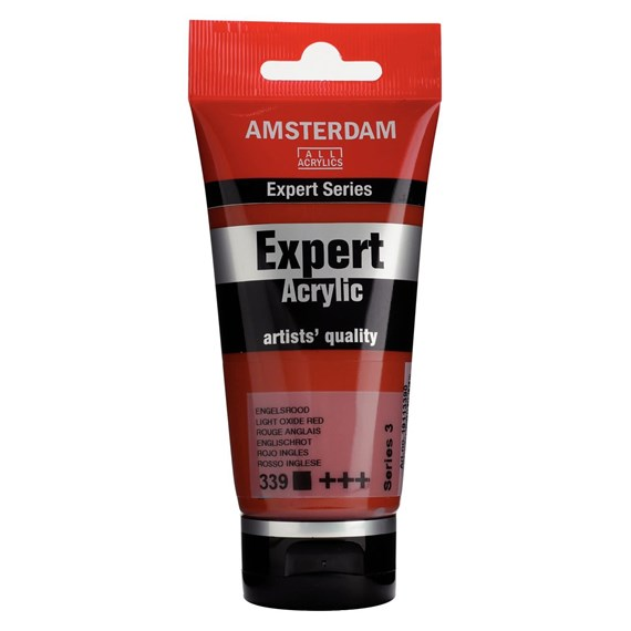 Expert Series Acrylique Tube 75 ml Rouge anglais 339 - PackshotFront