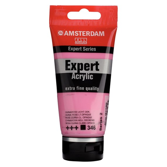 Expert Series Acrylfarbe Tube 75 ml Chinarosa Hell Deckend 346 - PackshotFront