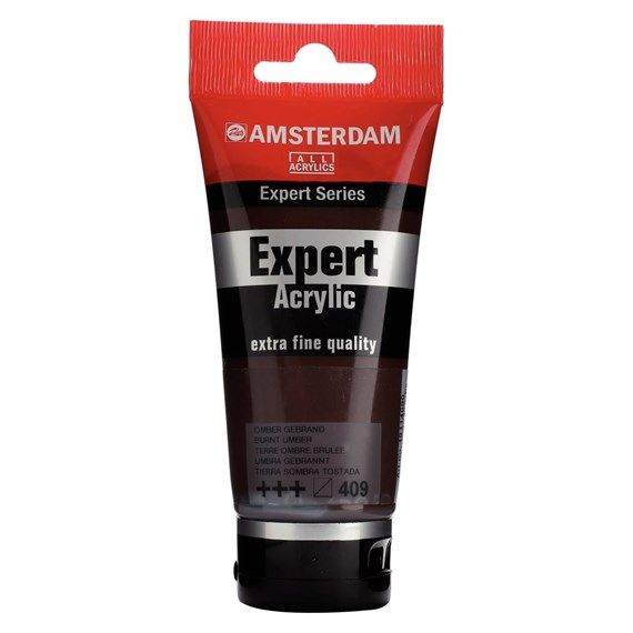 Expert Series Colores Acrílicos Tubo 75 ml Tierra Sombra Tostada 409 - PackshotFront