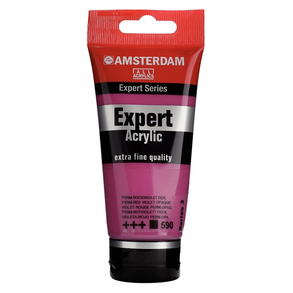 Expert Series Acrylique Tube 75 ml Violet rouge permanent opaque 590 - PackshotFront