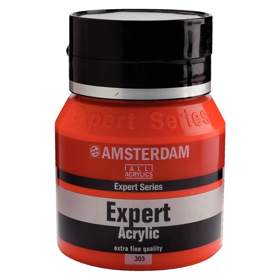 Expert Series Acrylique Pot 400 ml Rouge de cadmium clair 303 - PackshotFront