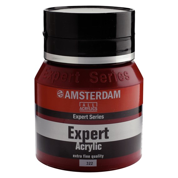 Expert Series Acrylic Jar 400 ml Carmine Deep 322 - PackshotFront