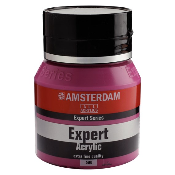 Expert Series Acrylique Pot 400 ml Violet rouge permanent opaque 590 - PackshotFront