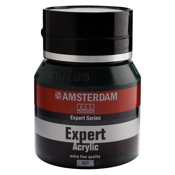 Expert Series Acrylic Jar 400 ml Sap Green 623 - PackshotFront