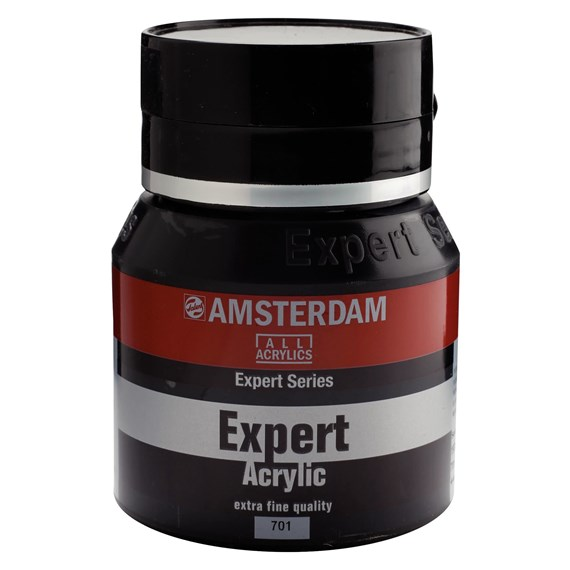 Expert Series Acrylic Jar 400 ml Ivory Black 701 - PackshotFront