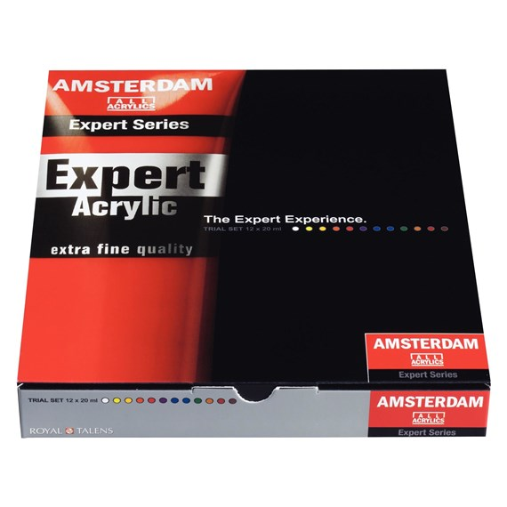 Expert Series Acryl Set 12x20 ml - PackshotFront