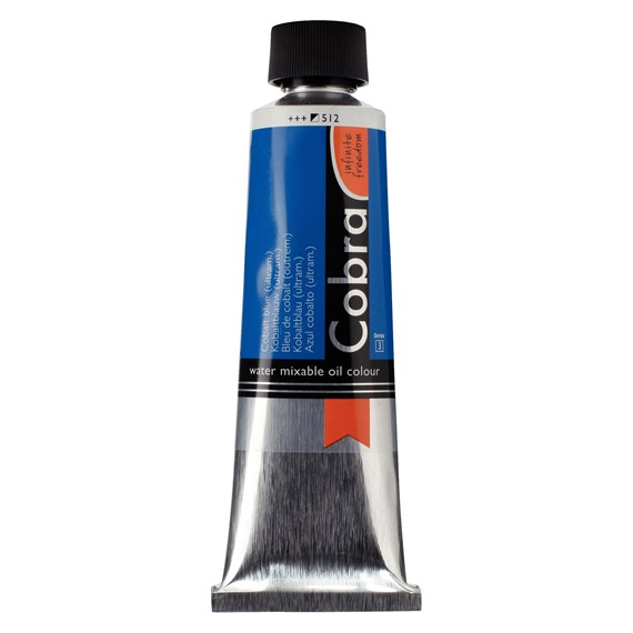 Artist Water Mixable Oil Colour Tube 150 ml Cobalt blue (ultramine) 512 - PackshotFront