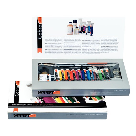 Artist Gift 10X40 ml + Accessories - PackshotFront