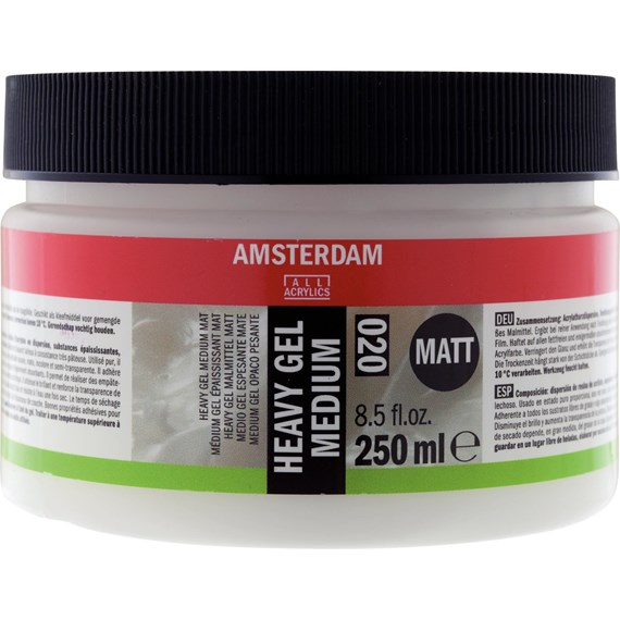 Heavy Gel Medium Matt 020 Jar 250 ml - PackshotFront