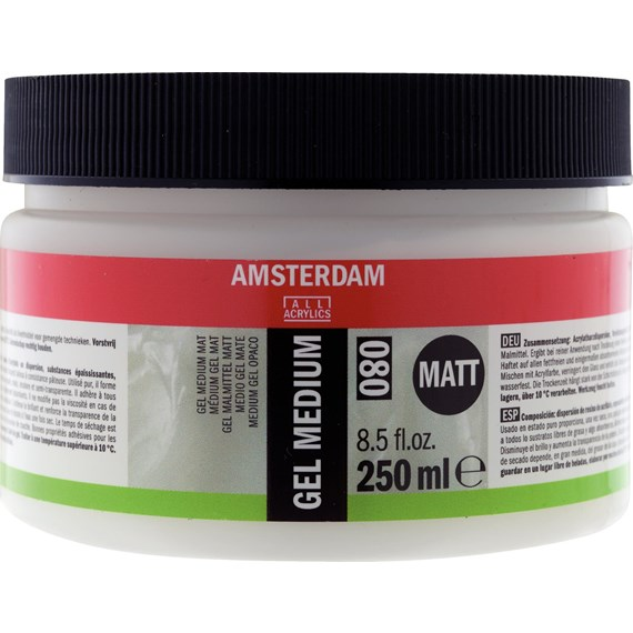 Gel Medium Mat 080 Pot 250 ml - PackshotFront