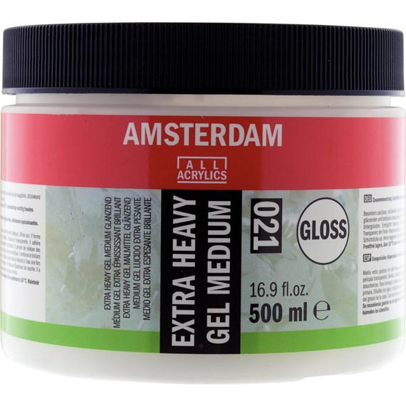 Médium gel extra lourd brillant pot 500 ml - PackshotFront