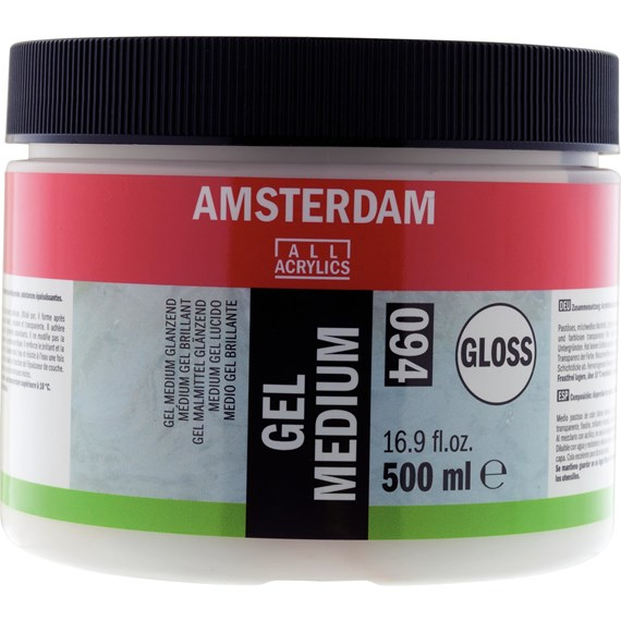 Gel Medium Gloss 094 Jar 500 ml - PackshotFront