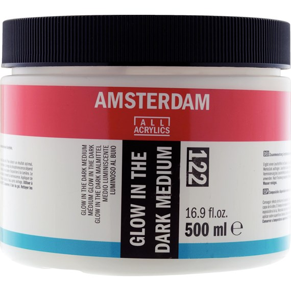 Glow In The Dark Medium 122 Pot 500 ml - PackshotFront