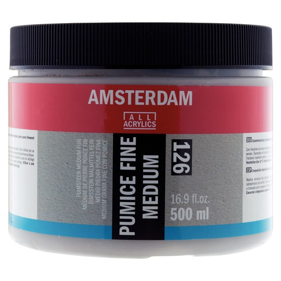 Pumice Fine Medium 126 Jar 500 ml - PackshotFront