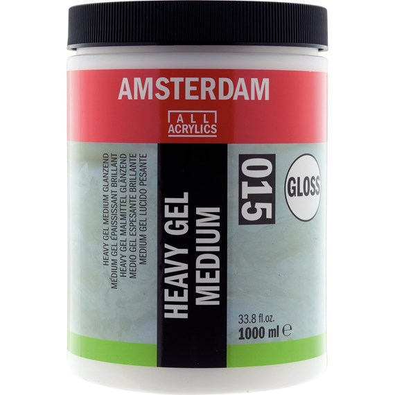 Heavy Gel Medium Glanzend 015 Pot 1000 ml - PackshotFront