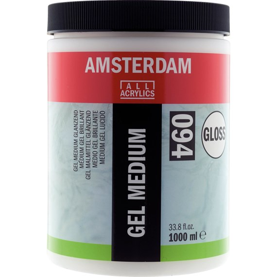 Gel Medium Glanzend 094 Pot 1000 ml - PackshotFront