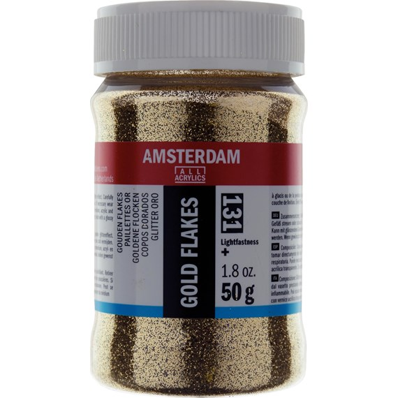 Gold Flakes Jar 50 g - PackshotFront