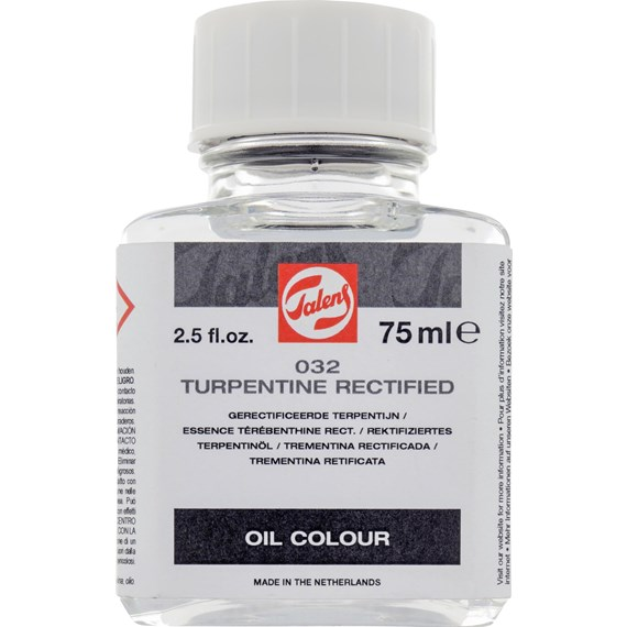 Rectified Turpentine 032 Bottle 75 ml - PackshotFront