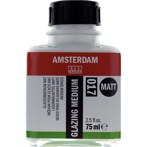 Glazing Medium Matt 017 Bottle 75 ml - PackshotFront