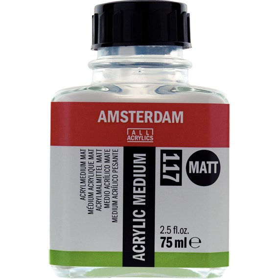 Acrylmedium Mat 117 Fles 75 ml - PackshotFront