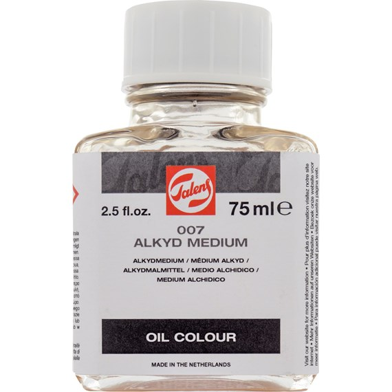 Alkyd Medium 007 Bottle 75 ml - PackshotFront