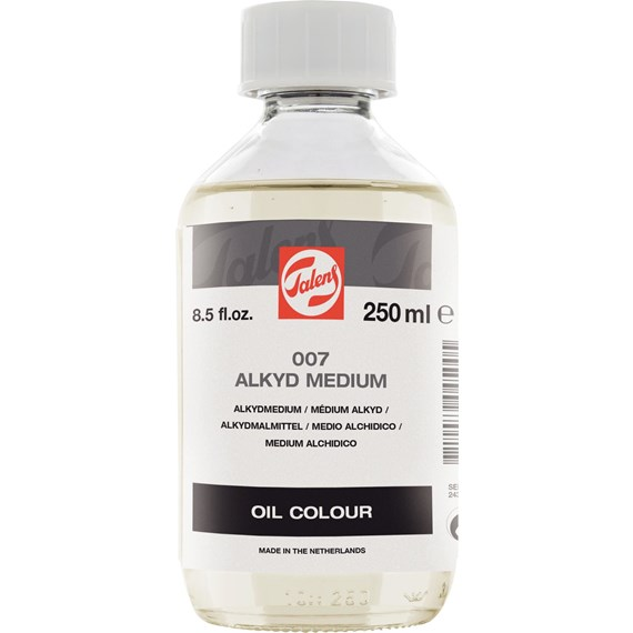 Alkydmedium 007 Fles 250 ml - PackshotFront