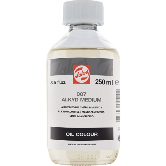 Alkyd Medium 007 Bottle 250 ml - PackshotFront