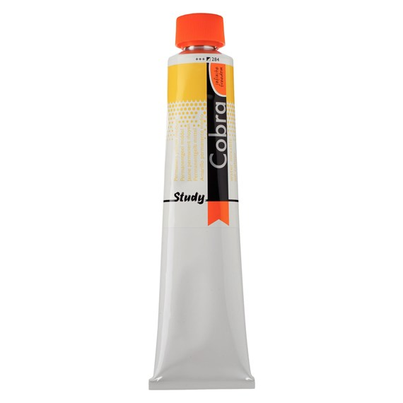 Study Color Al Óleo Miscile Con Agua 200 ml Amarillo Permanente Medio 284 - PackshotFront