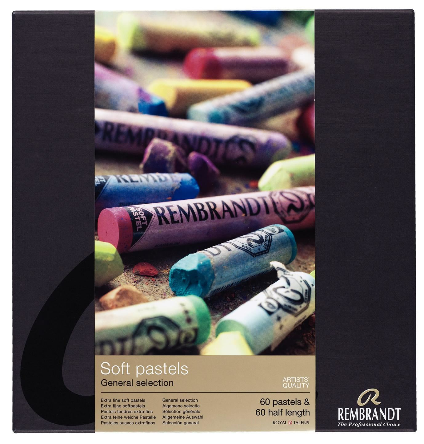 Royal Talens Rembrandt Extra Fine Soft Pastel Artist Quality General Selection of 45
