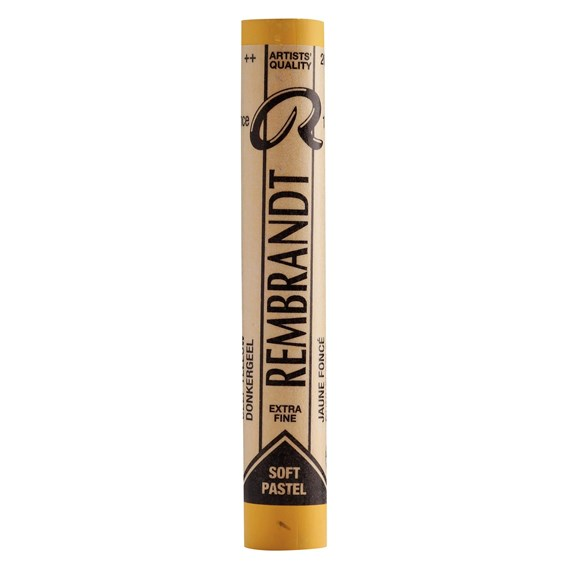 Soft Pastel Round Full Stick Deep Yellow(7) (202.7) - PackshotFront