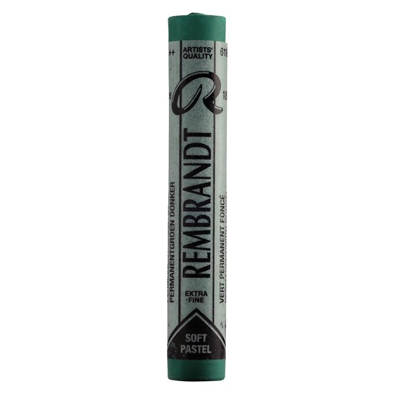 Soft Pastel Round Full Stick Permanent Green Deep(5) (619.5) - PackshotFront