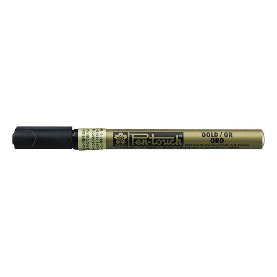 Pen-Touch Extra Fine Gold - PackshotFront