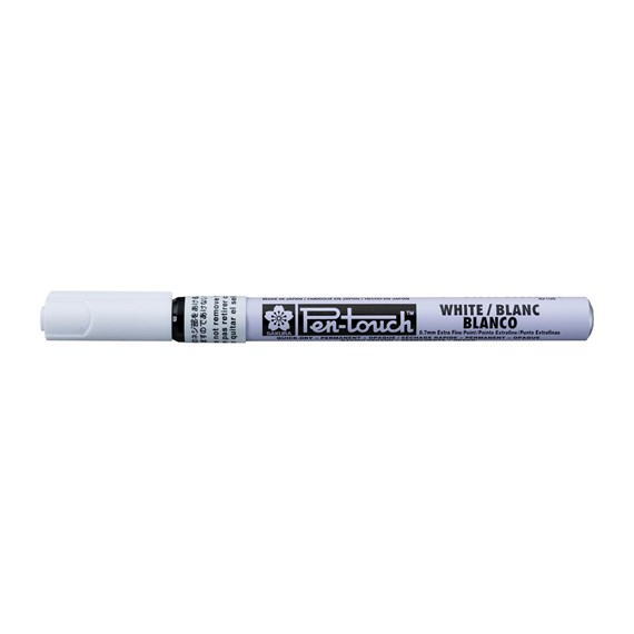 Pen-Touch Extra Fine White - PackshotFront