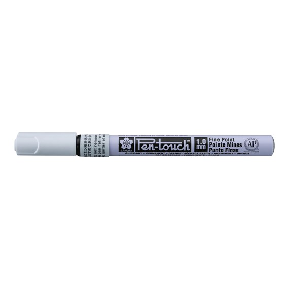 Pen-Touch Fine White - PackshotFront