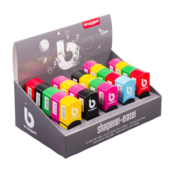 Sharpener-Eraser Display 25 - PackshotFront