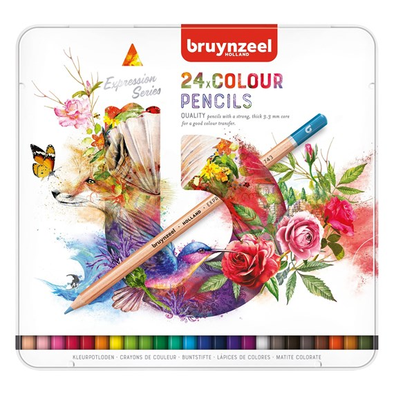 Expression Colour Pencils Tin 24 - PackshotFront
