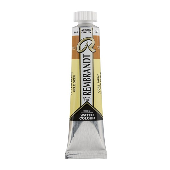 Aquarelle 20 ml Ocre Jaune - PackshotFront