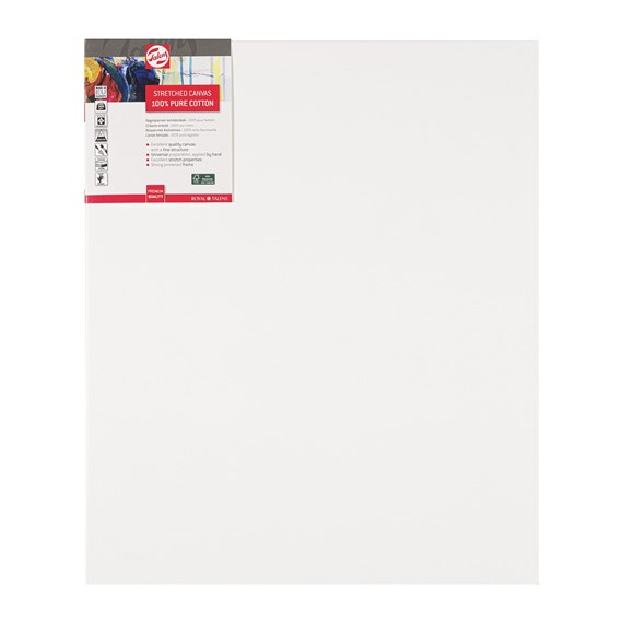 Canvas Stretched Cotton Stapled 50X60 Fsc - PackshotFront