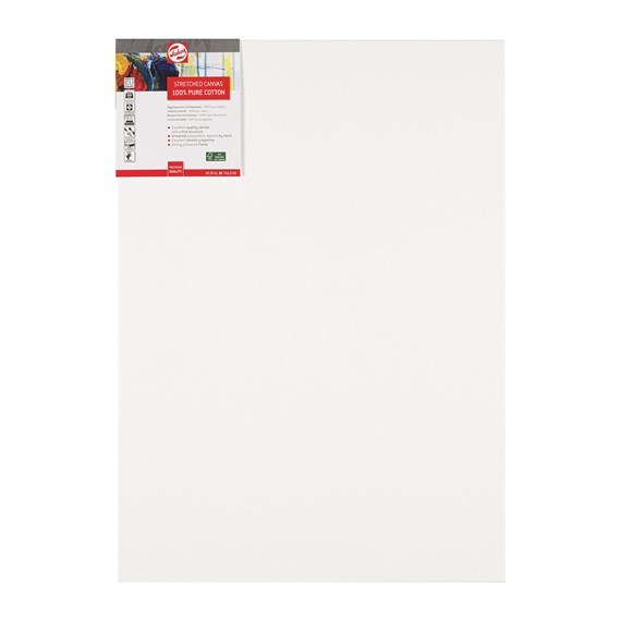 Canvas Stretched Cotton Stapled 50X70 FSC - PackshotFront