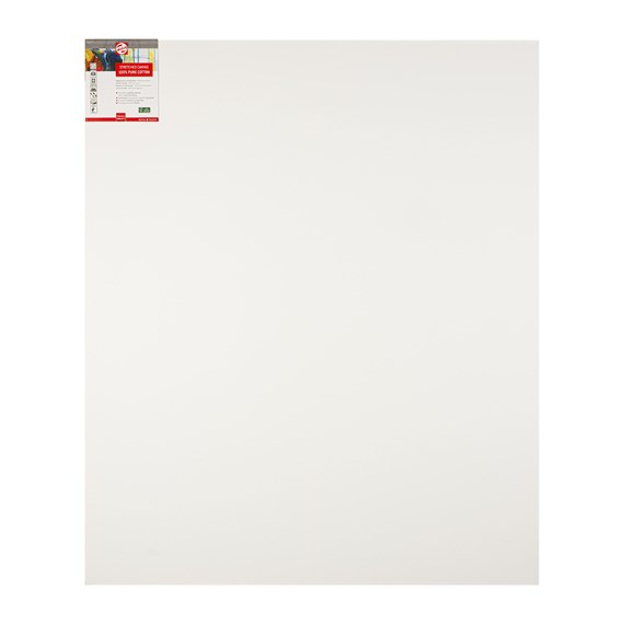 Canvas Stretched Cotton Stapled 100X120 FSC - PackshotFront
